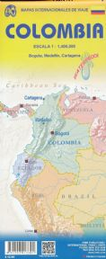 Colombia Travel Reference map